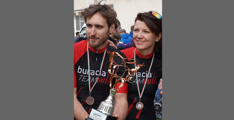 Iryna Bukhanska e Giovanni Colò